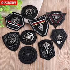 gugutree embroidery hook loop chinese map patches china badges applique for clothing ad 208