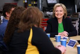 Image result for hillary clinton in iowa
