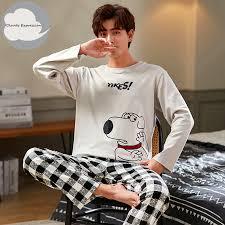 Best Offers cotton <b>casual</b> pyjamas <b>men</b> list and get free shipping ...