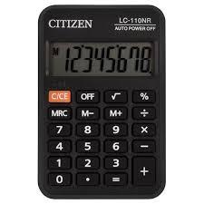 Купить <b>Калькулятор карманный CITIZEN</b> LC-110NR, МАЛЫЙ ...