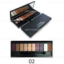 Купить <b>тени для век MAC</b> 10 Colors Eyeshadow, палетка 10 ...