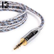 <b>KB EAR 16</b> core silver plated cable with metal 2pin/MMCX/QDC ...