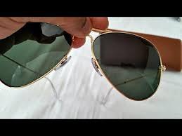 How to Spot Fake Rayban Aviator <b>Sunglasses</b> (highest grade fake ...