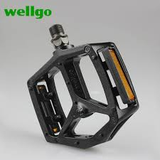 <b>Wellgo Aluminum</b> Alloy B249DU Ultralight <b>Bicycle Pedal</b> Cr Mo ...