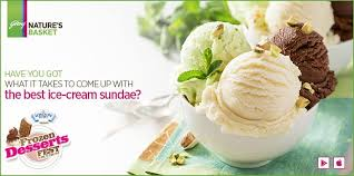 Nature's Basket - #FrozenDessertsFest We all love our ice-cream ...