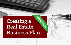 creating a real estate business plan template