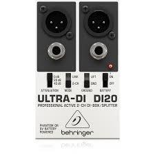 <b>Директ</b>-<b>бокс Behringer Ultra-DI</b> DI20 купить в InterMuzika - Цена: 1 ...