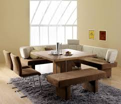 Dining Room Table With Benches Dining Room Furniture With Bench Trendy Dining Table With Bench