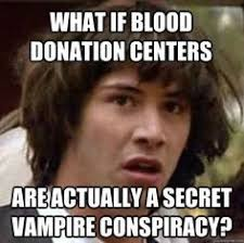 Bloody Good Humor on Pinterest | Blood Donation, Red Blood Cells ... via Relatably.com