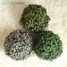 China <b>Artificial Grass Plant</b> Topiary Boxwood Ball Dy1-2531A ...