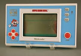 Handheld electronic game:Super <b>Mario Bros</b>. Game & Watch ...