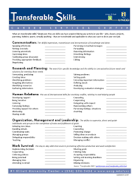 transferable skills by uncg career services center issuu