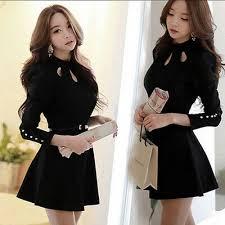 Korean <b>Elegant</b> Womens <b>Spring Autumn</b> Fashion Slim Long Sleeve ...