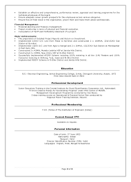 director power projects resumehuman resources management page  of