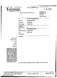 fax cover sheet from steven schneebaum patton boggs law firm to fax cover sheet from steven schneebaum patton boggs law firm to secretary of state colin powell