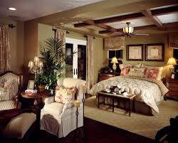 big master bedrooms couch bedroom fireplace: feminine master bedroom design with floral billows and art