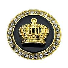Merssavo 3D Diamond Crown <b>Car styling Auto</b> Sticker <b>Metal Badge</b> ...