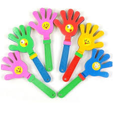 <b>1pc Fashion Colorful</b> Hand Clapper Children Clap Noise Makers ...