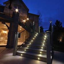outdoor stair lights application lamps staircase