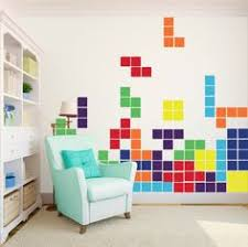 art for the office wall. tetris game large vinyl wall art decals for the office m