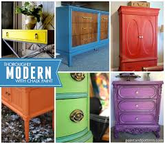 chalk paint decorative paint on modern style furniture projects so colorful via paint bright painted furniture