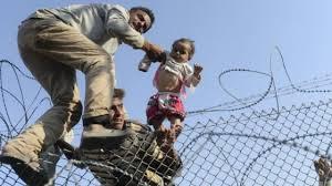 Resultado de imagen de fotos emigrantes por culpa de la guerra2016