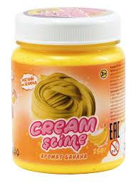 <b>Слайм Cream Slime</b> С ароматом банана <b>250 гр</b> — купить в ...