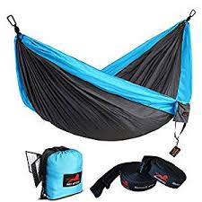 Honest Outfitters Single & Double Camping Hammock with ...