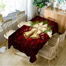 Рождественская <b>скатерть</b> 140x140 см, прямоугольная кухонная ...