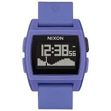 Купить электронные <b>часы Nixon Base Tide</b> (purple в интернет ...