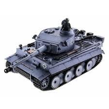 «<b>Радиоуправляемый танк Heng</b> Long German Tiger масштаб 1:16 ...