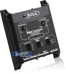 boss bg200 bass processor w parametric bass control and led lights product boss bg200