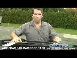 Whispbar Rail Bar <b>Roof Rack</b> for Factory <b>Side Rails</b> Video Install ...