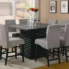 Contemporary Black Dining Room Sets Modern Black Dining Room Sets Marceladickcom