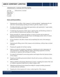 assistant office assistant job description resume template office assistant job description resume picture full size