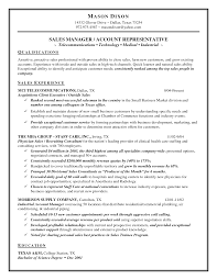 Technology sales rep resume