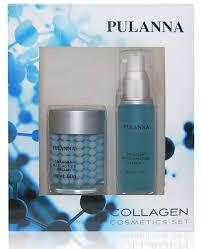 <b>Pulanna Подарочный набор Collagen</b> Cosmetics Set (2 предмета ...
