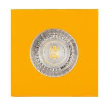 Желтый точечный <b>светильник встраиваемый Denkirs DK2031</b>-<b>YE</b>