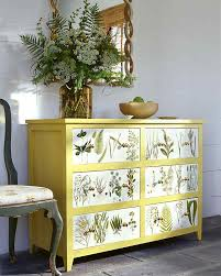 diy furniture restoration ideas. Botanical Dresser 17 DIY Bedroom Furniture Makeover For Minimalists Diy Restoration Ideas E