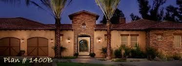 Home Plans  House Plan  Courtyard Home Plan Santa Fe Style Home    Plan