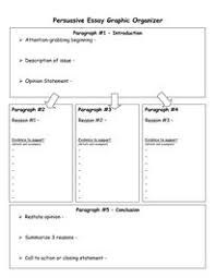 images about persuasive essay on pinterest   persuasive    persuasive essay graphic organizer   download now doc