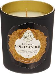 Nesti Dante <b>Свеча</b> Luxury Gold Candle Золото, 160 г - купить по ...