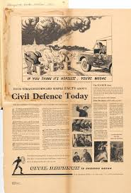 civil defence is common sense the national archives civil defence is common sense a civil defence poster produced in 1957 by the central office of information inf 2