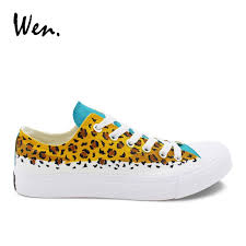 <b>Wen</b> Men <b>Casual</b> Flat Low Top Hand Painted <b>Shoes Original</b> Design ...