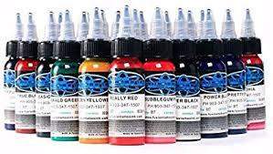 <b>30ml Professional</b> Tattoo Ink <b>16 Colors</b> Set 1oz <b>30ml</b>/Bottle Tattoo ...