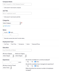 how to search for candidates in resume database user added image
