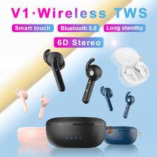 <b>V1 TWS</b> 2019 new Bluetooth v5.0 sports headset battery headset ...
