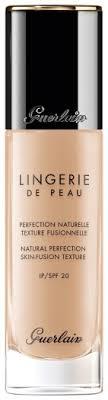 <b>Guerlain Lingerie de Peau</b> Fluid Foundation N01N Very Light 30ml ...
