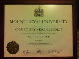 accomplishments courtney holst earning my degree from mount royal univeristy was a significant experience for me i value that degree because i worked hard for it i continually pushed