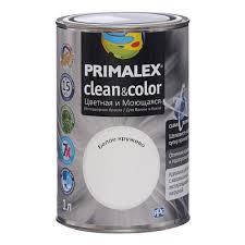 <b>Краска Primalex Clean&Color Белое</b> кружево 1л, Primalex 420198 ...